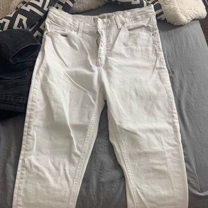 white topshop jeans
